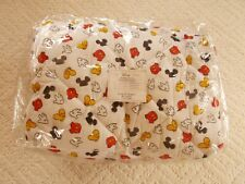 Disney Graphic Mickey Mouse Printed Body Parts  Comforter w/ 2 Shams & Bedskirt