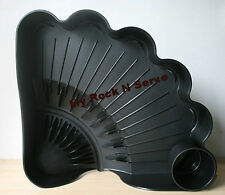 Tupperware Large Shell Easy-Dry Dish Drainer Jet Black  New