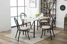 Dining Table Set Small Modern Rectangular Kitchen Tables And Chairs Sets 5 Piece