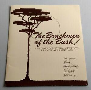Brushmen of the Bush prints Eric Minchin Pro Hart John Pickup Jack Absalom etc