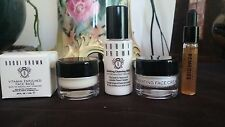BOBBI BROWN 4pc Skincare Set- face base, cleansing milk, face cream, remedies 91