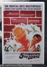 Five Fingers of Death Movie Poster - Fridge Magnet. Martial Arts Cult Classic!