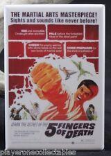 Five Fingers of Death Movie Poster - Fridge Magnet. Martial Arts Cult Classic!