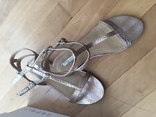 Esprit Sandalen Sandaletten Gr. 38 Farbe Camel    NEU UND UNGETRAGEN