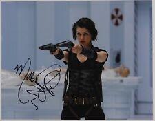Milla Jovovich Resident Evil Signed Autograph JSA 11 x 14 Photo