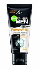 4x100 GRAM GARNIER MEN POWERWHITE DOUBLE ACTION FACE WASH - LOWEST SHIPPING COST