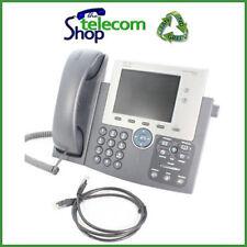 Teléfono IP unificado 7945g de Cisco en Negro
