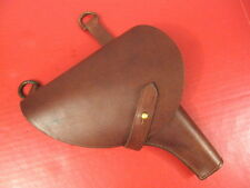 WWII Era Russian Leather Holster for Model 1895 Nagant Revolver - Reproduction