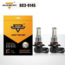 2X Auxbeam LED Headlight Bulbs Kit 9005/9145 Fog Lights Super Bright 6000K White