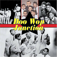 DOO WOP JUNCTION - 25 CLASSICS & RARITIES FROM 1953 ~ 1961 NEW & SEALED CD ALBUM