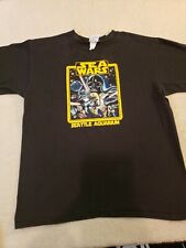Seattle Aquarium Sea Wars Black Tshirt Large The Duck Company