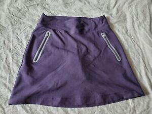 Nike Golf Tour Performance Skirt Skort Purple Small