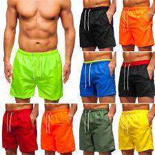 Badeshorts Shorts Badehose Schwimmshort Schwimmhose Herren Mix BOLF Basic WOW