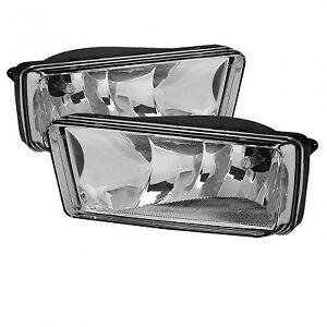 Spyder Auto FL-CSIL07-C OEM Fog Lights w/o switch-Clear fit GMC Suburban