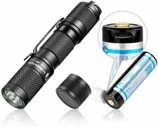 LUMINTOP TOOL AA 2.0 EDC Small Flashlight, Rechargeable 14500 Cell/Magnetic Tail