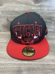 Chicago Bulls Windy City Fitted New Era 59Fifty 7 1/2 Hardwood Classics!