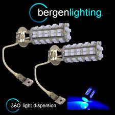 2x H3 BLU 60 LED ant. LAMPADINE PER FARI FENDINEBBIA SUPPLEMENTARI