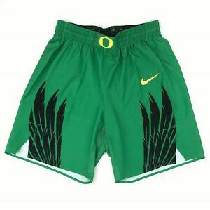 Nike Unlimited Oregon Ducks Basketball Short Men's Large Green Black 930557