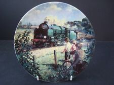 BRADEX THE GOLDEN ARROW GOLDEN AGE OF STEAM TRAIN PLATE