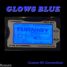 Turnigy 9X  Spektrum DX6i transmitter backlight blue!