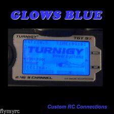 Turnigy 9X  Spektrum DX6i transmitter backlight blue!