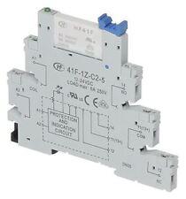 Hongfa Europe GMBH 41F Series 12V dc DIN Rail Interface Relay Module, CO