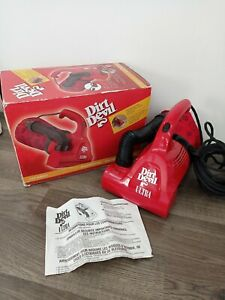 Dirt Devil Ultra Corded Hand Vac Handheld Vacuum Cleaner Red M08230RED very good