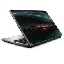 "Universal Laptop Skins wrap for 15"" - Galaxy planet shine moon"