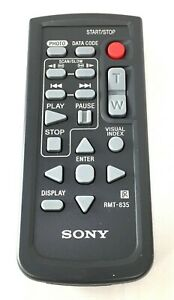Genuine SONY RMT-835 remote HDR- CX350 XR200 FDR-AX100 HDR-TD10 HDR-XR200 CX900