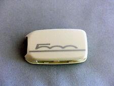 1x Schlüsselschale Schlüsselcover Fiat 500X Aufdruck 500 in weiß