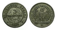 pci2492) St  Pontificio Seconda Repubblica Romana (1848-1849) 1 Baiocco 1849 B