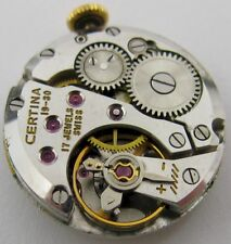 Certina Kurth F. 19 - 30 watch Movement & Dial for parts ...