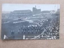 1911 CORONATION GEORGE V PHOTOGRAPH POSTCARD  - SHEFFIELD PAGEANT BRAMALL LANE
