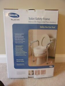 INVACARE  SAFETY TOILET SEAT FRAME Model 1392kd SAFE ACCESS TO TOILET