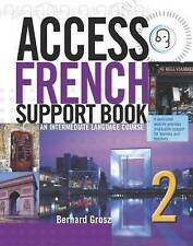 (Very Good)-Access French 2: SUPPORT BOOK ONLY - EX DIRECTORY (Access Language S