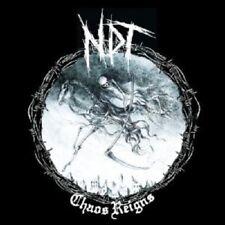 NUCLEAR DEATH TERROR - CHAOS REIGNS  CD 11 TRACKS HEAVY METAL HARD ROCK NEW