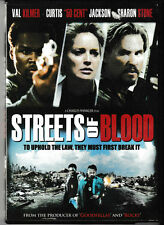 Streets of Blood (DVD) Val Kilmer - 50 Cent - Sharon Stone