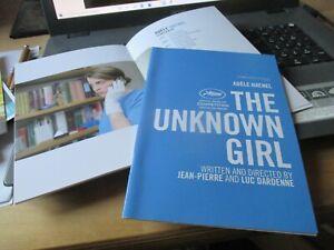 Jean-Pierre & Luc Dardenne THE UNKNOWN GIRL Pressbook CANNES 2016 ADELE HAENEL