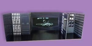 "Retro Tarkin Overbridge Custom Playset 4"" Star Wars Hasbro Kenner Free Shipping"