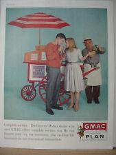 1961 GMAC General Motors Car Finance Kids Hot Dog Stand Vintage Print Ad 10300