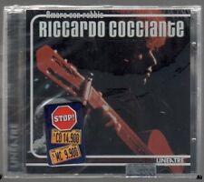 RICCARDO COCCIANTE AMARE CON RABBIA  LINEATRE CD F.C. SIGILLATO!!!