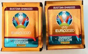 EURO EM 2020 Tournament Edition 50 bustine figurine Panini sigillate.