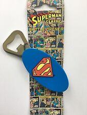 SUPERMAN CLASSIC LOGO BOTTLE OPENER Official New