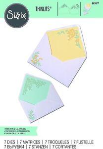 Sizzix Thinlits - Foliage Envelope Liners Die Set