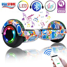 6.5inch Bluetooth Hoverboard Electric Balancing Scooter without bag colorful