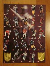 Collector's Edge Excalibur Football Cards Uncut Sheet