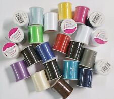 100 Spools Sewing Thread Polyester Assorted Colors 200 yards each Wholesale Lot