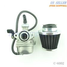 Carburetor Carb W/ Air Filter for Honda CRF50 CRF70 Dirt Pit Bike