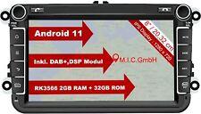 AV8V7-Lite: Android 11 Navi GPS für Amarok,Beetle,Caddy,EOS,Golf,Jetta,Passat