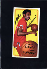 1970 Topps #29 Mike Davis Signed Autographed Card Braves JC LOA *560733